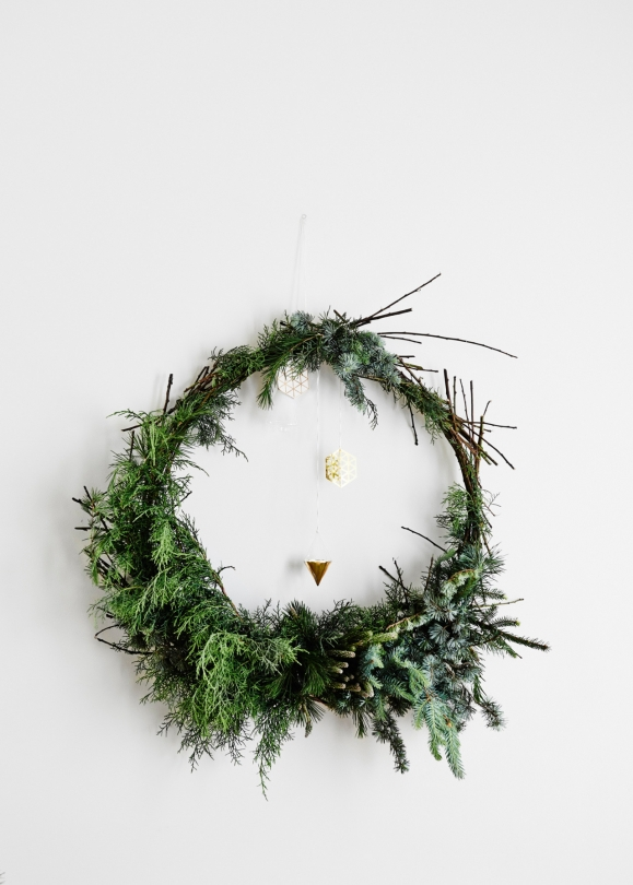 Une Decoration De Noel Inspiree De La Nature
