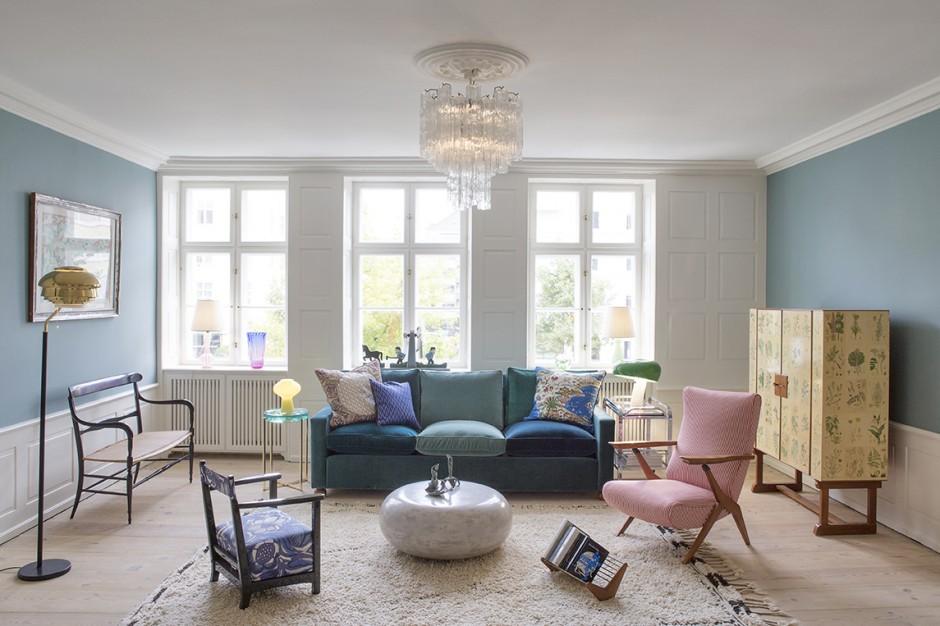 Pantone 2016 Rose Quartz et Bleu Sérénité || the apartment dk 2015