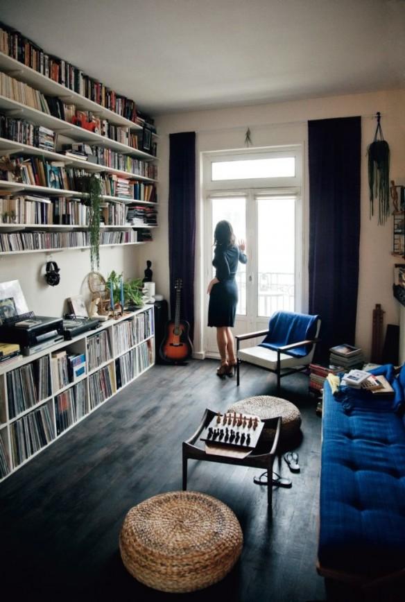 Le studio vintage de Ruth Vega à Belleville