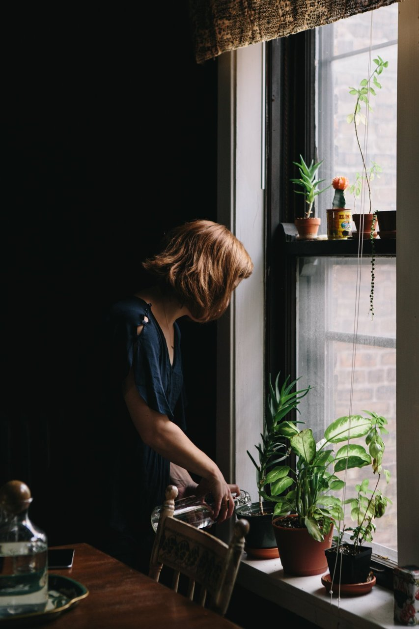 "Effet ""vieilles demeures"" et patines || Anna Zajac Chicago home"