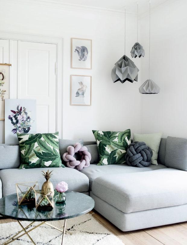 Adopter une déco pastel scandinave - L'appartement d'Hanne et Tobias Scheel Mikkelsen