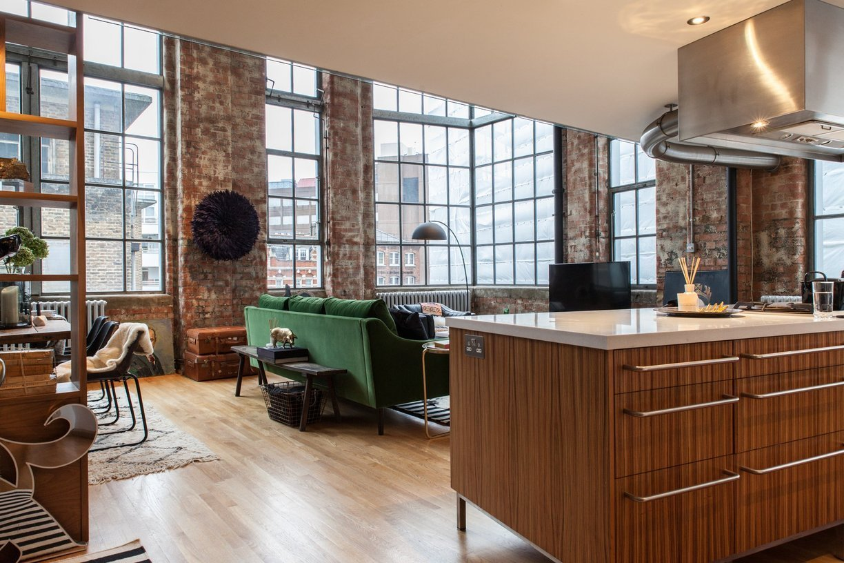 Le loft de style industriel d'Heather Kane à Londres
