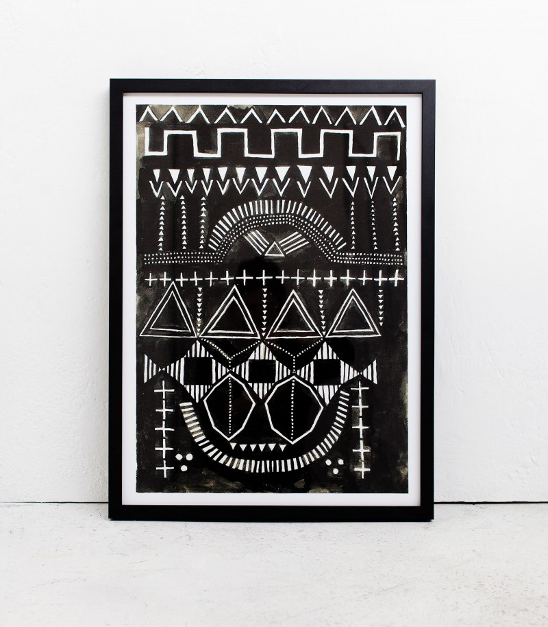 Indie home collective - Summer Bach catalogue - Messenger poster