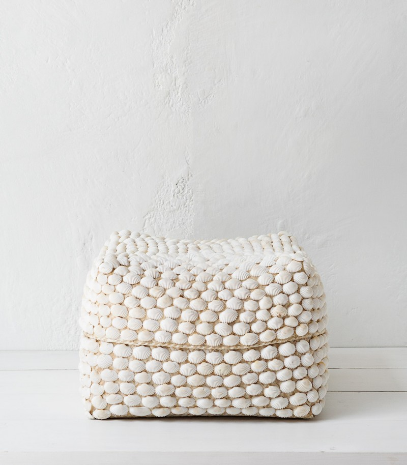 Indie home collective - Summer Bach catalogue - Shell Basket