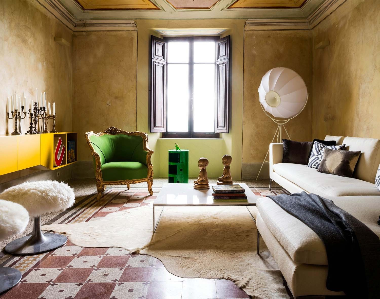 """Effet """"vieilles demeures"""" et patines    Un palais en Ombrie par Patrizio Fradiani"""