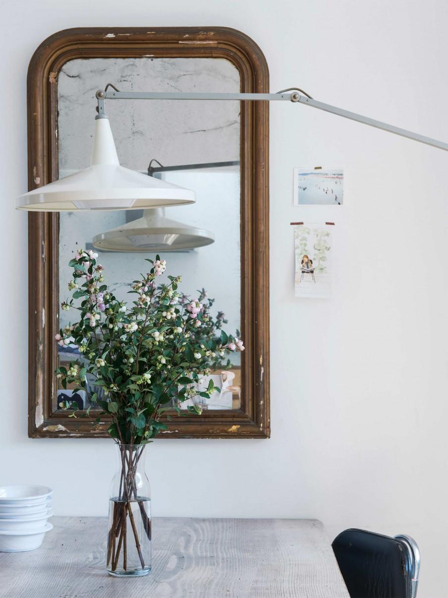 Une maison Lahaye (Pays Bas) dans un esprit bohème minimal