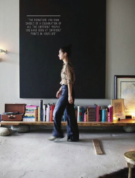 X façon de ranger ses livres de façon improbable - Ranger ses livres sur une planche