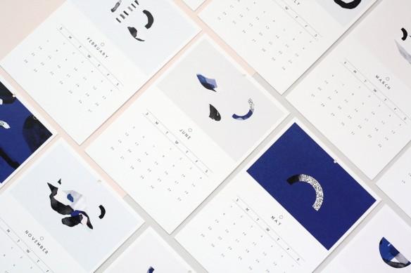 Sélection de calendriers 2016 design et graphiques - A5 - OAK gallery