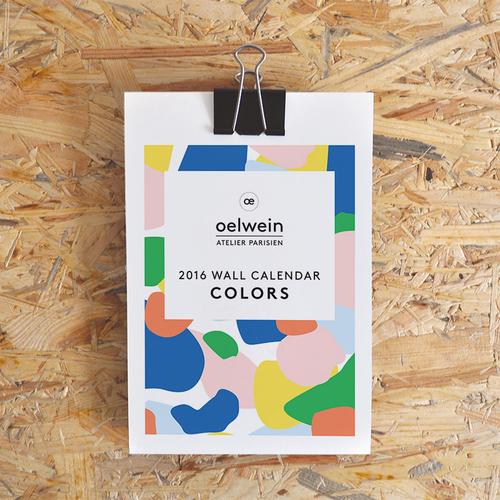 Sélection de calendriers 2016 design et graphiques - Oelwein