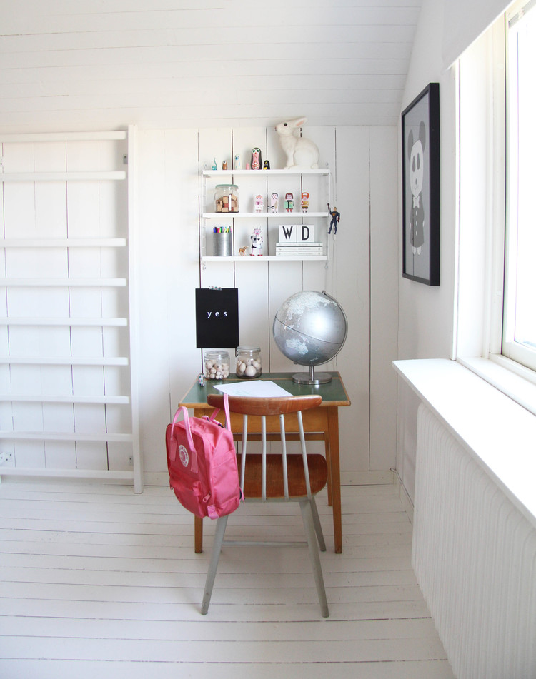 Chambre blanche clean room - Chambre enfant blanche ...