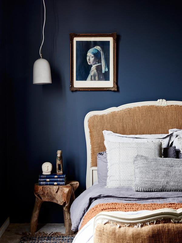 Charmant On Réchauffe Les Bleus Foncés De Tons Bruns Et Chauds || Amanda  Henderson Marks