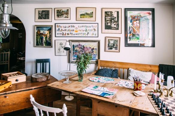 Esprit brocante en décoration d'intérieur - Ancienne laiterie en Suède