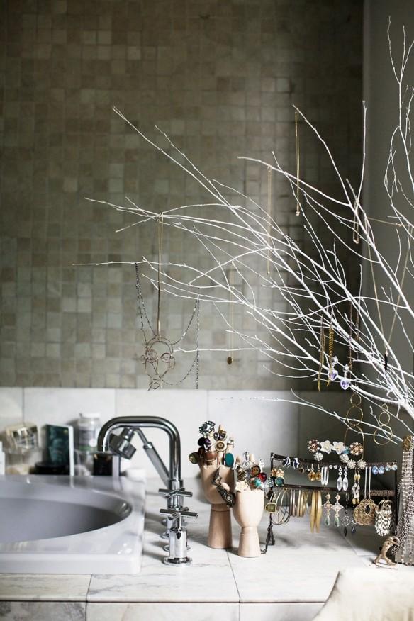 Le loft brut, glamour, éclectique d'Andi Potamkin à New-York8