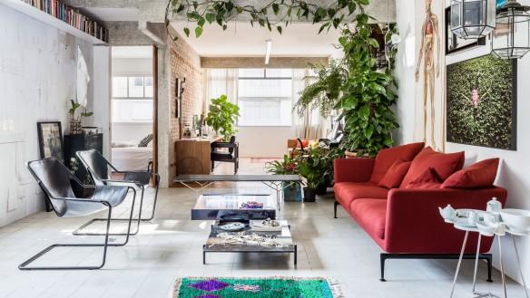 Appartement Joao à la déco brute - RSG arquitetos