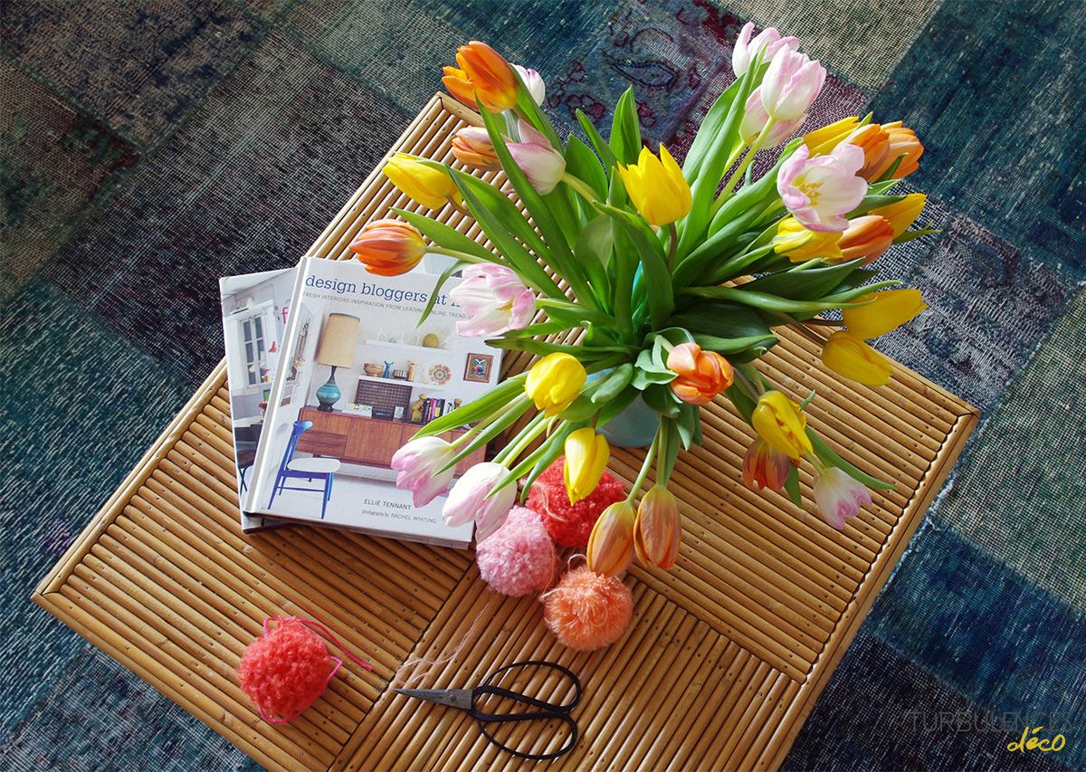 Bouquet de fleurs Fête des grands mères par Interflora - Turbulences Déco