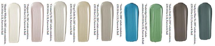 9 nouvelles couleurs farrow ball laquelle pr f rez vous for Peinture farrow and ball nuancier