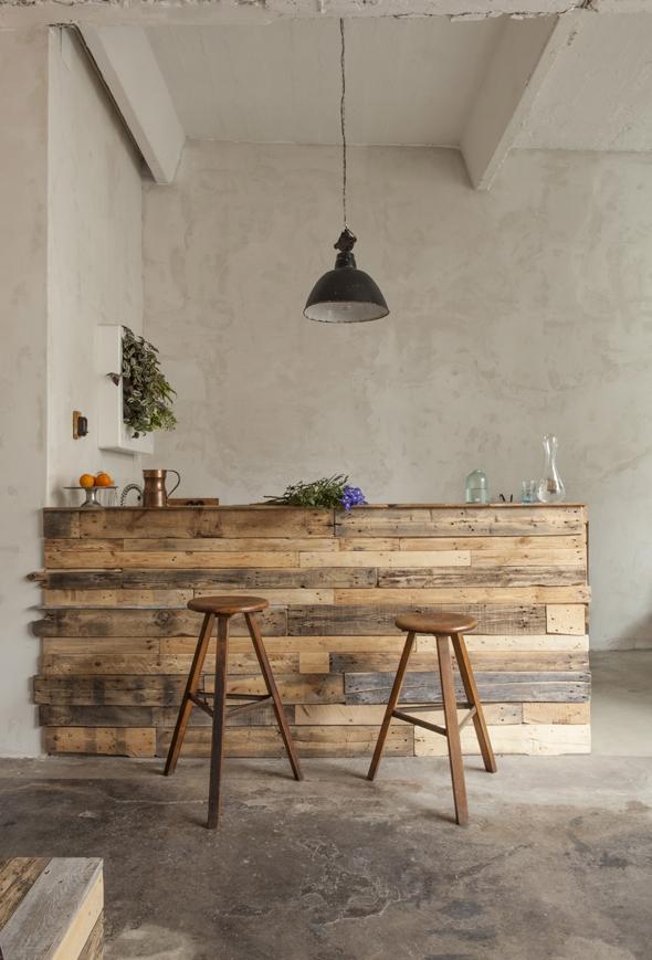 Style brocante : Un loft à Berlin récup' et mobilier industriel