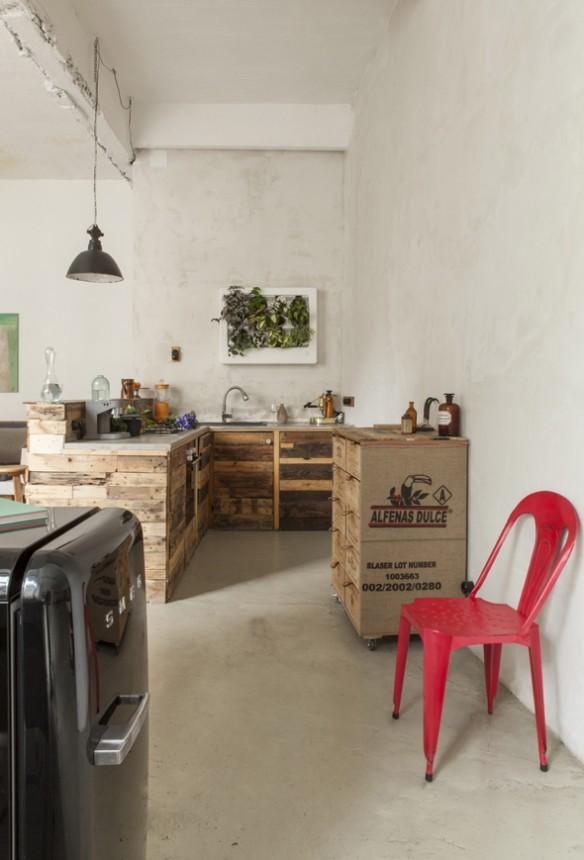 deco loft recup. Black Bedroom Furniture Sets. Home Design Ideas