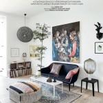 L'appartement bohème et arty de Jon Oron à Copenhague