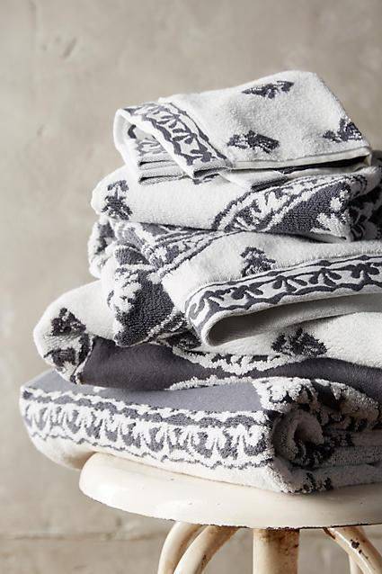 Anthropologie - Collection de serviettes Rivona