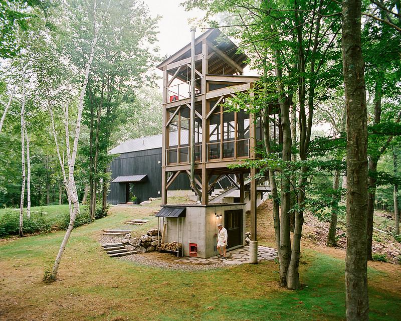 """BarlisWedlick architects - Une maison de style """"Néo Shaker"""" dans l'Hudson"""