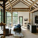 """Une maison à la façon d'une grange """"Néo Shaker"""""""