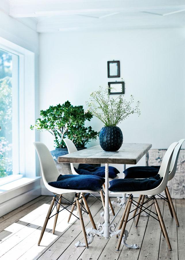 Bleu indigo en décoration d'intérieur || L'intérieur de Dorthe Elsker