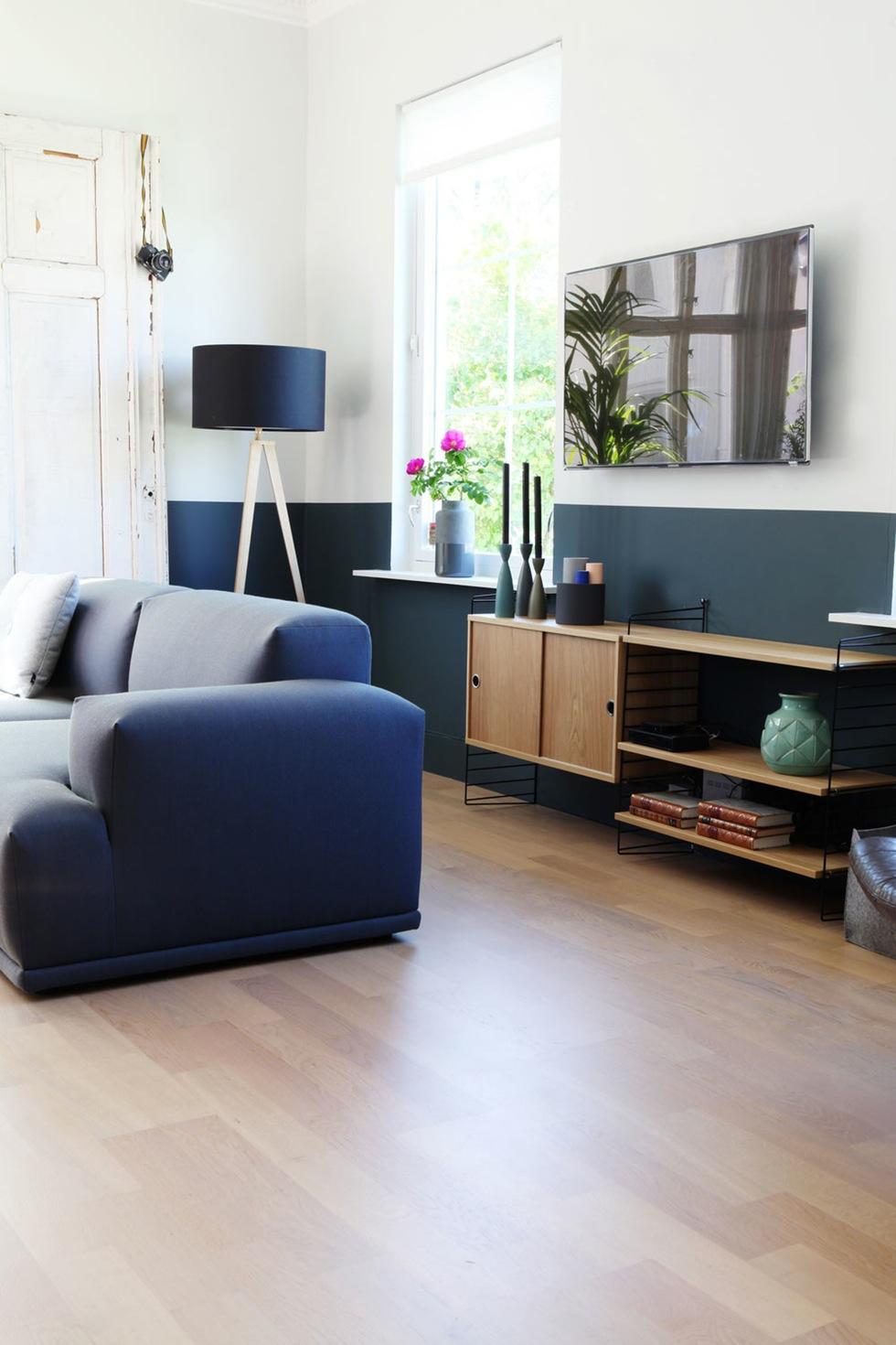 Bleu indigo en décoration d'intérieur || L'intérieur de Martin et Martin Velger ur