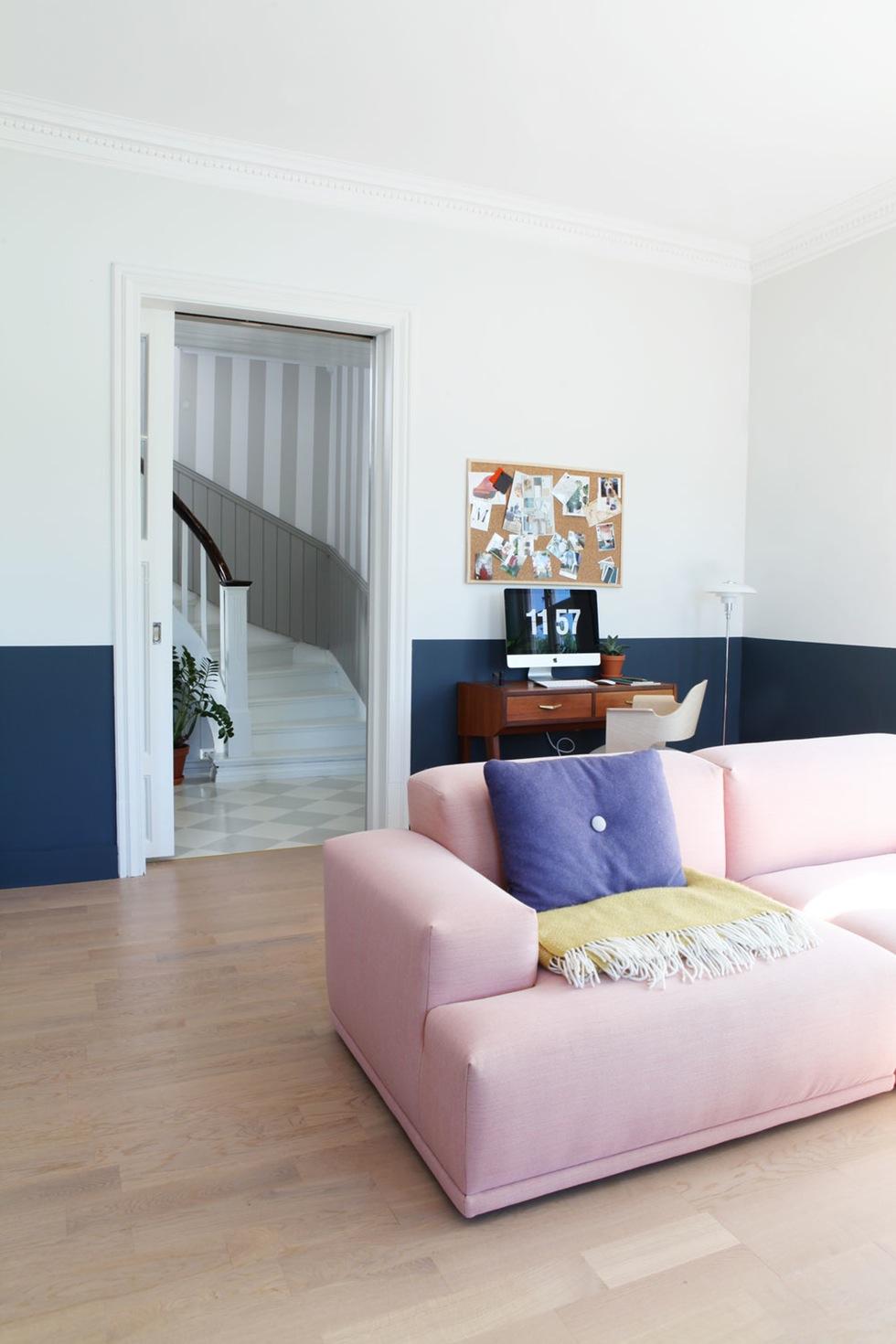 Bleu indigo en décoration d'intérieur || L'intérieur de Martin et Martin Velger