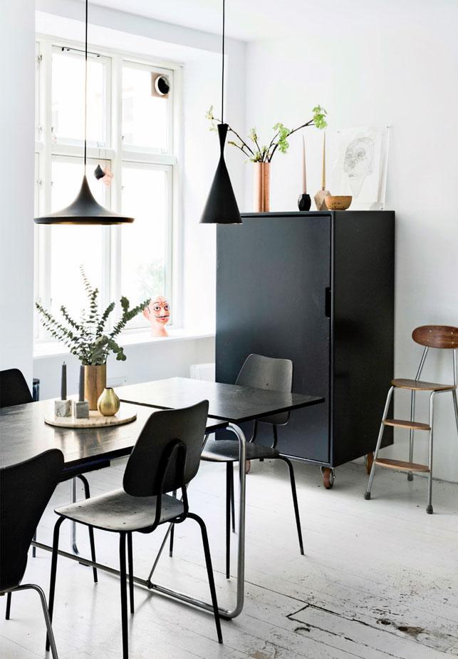 Une ancienne usine ransformée en un spacieux appartement lumineux à Copenhague