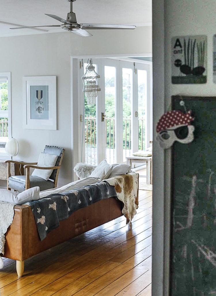 """Déco """"bord de mer"""" : Une maison sur l'île de Waiheke en NZ"""