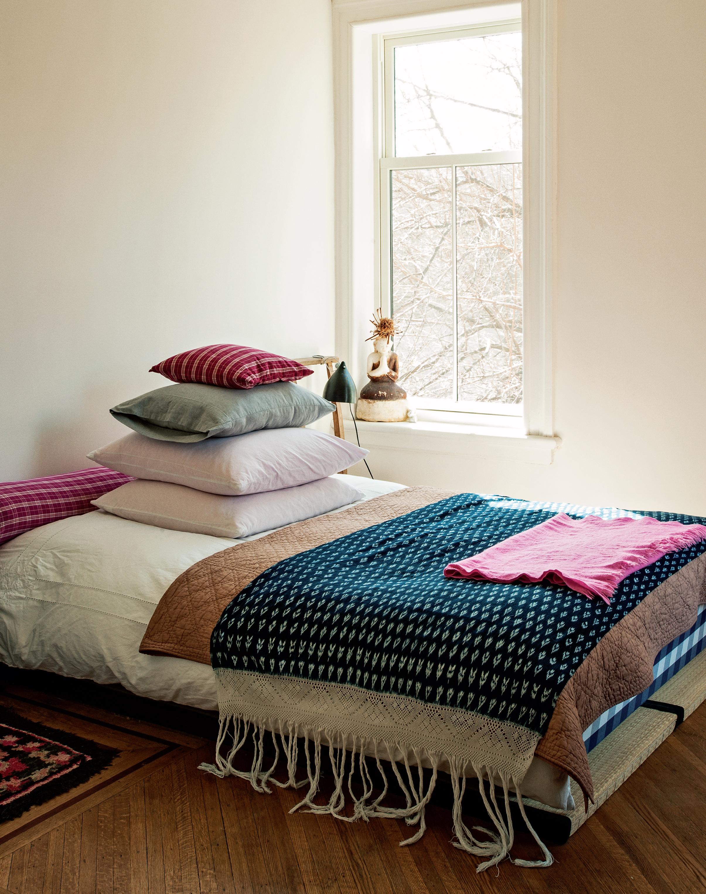 Brooklyn Interiors : La maison bohème de la designer Mona Kowalska - Photo : Matthew Williams