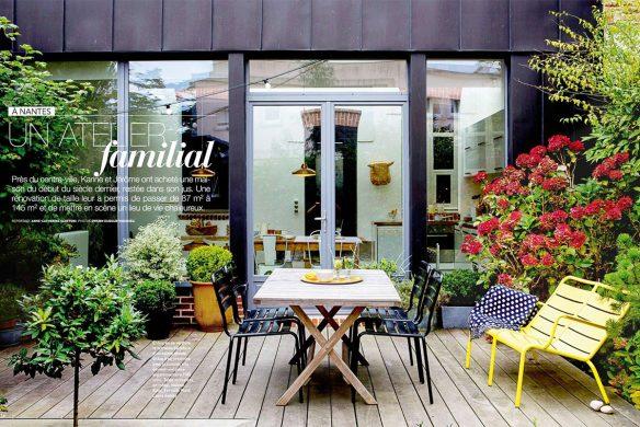 Chez Mr and Mrs Clynk : entre simplicité et fantaisie || Extrait de Art et décoration