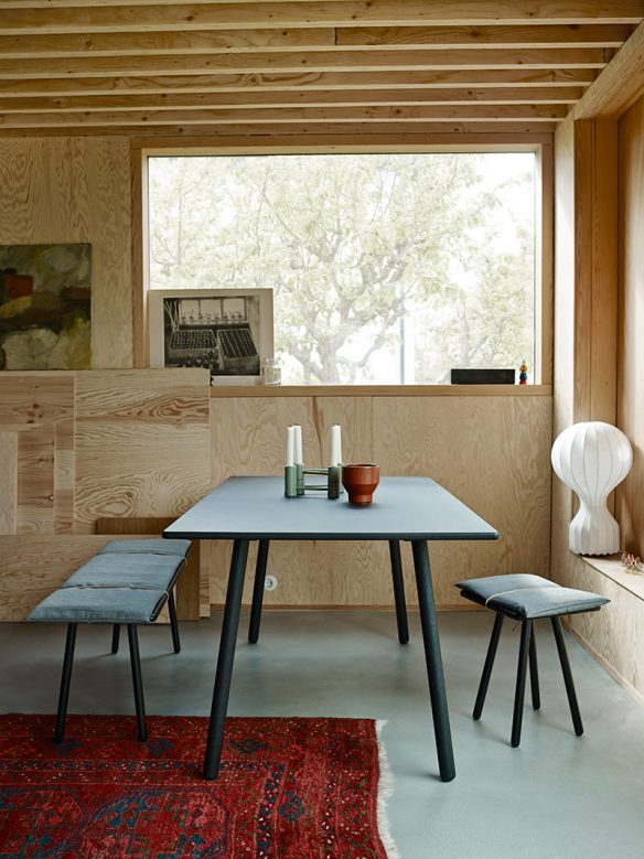 Catalogue Skagerak 2016 - Une maison rénovée à Malmö tout en contreplaqué et sol ciment