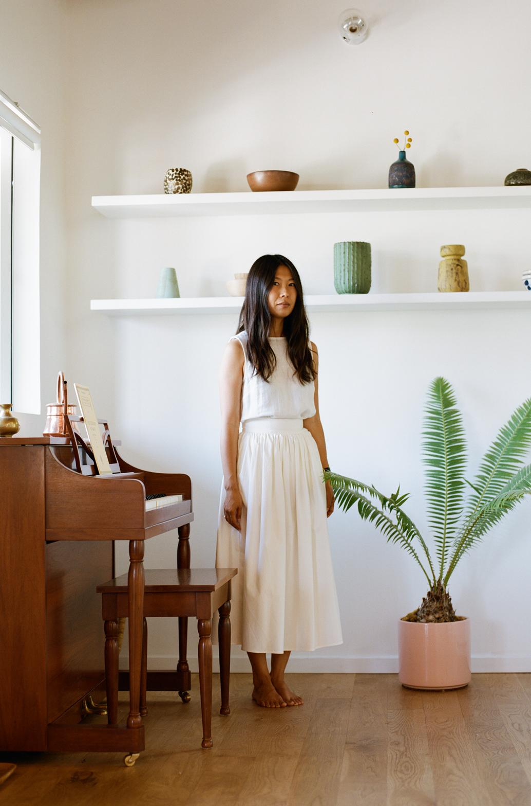 L'intérieur minimaliste et zen de Jeanna Sohn -blog Closet visit- via The Dreslyn