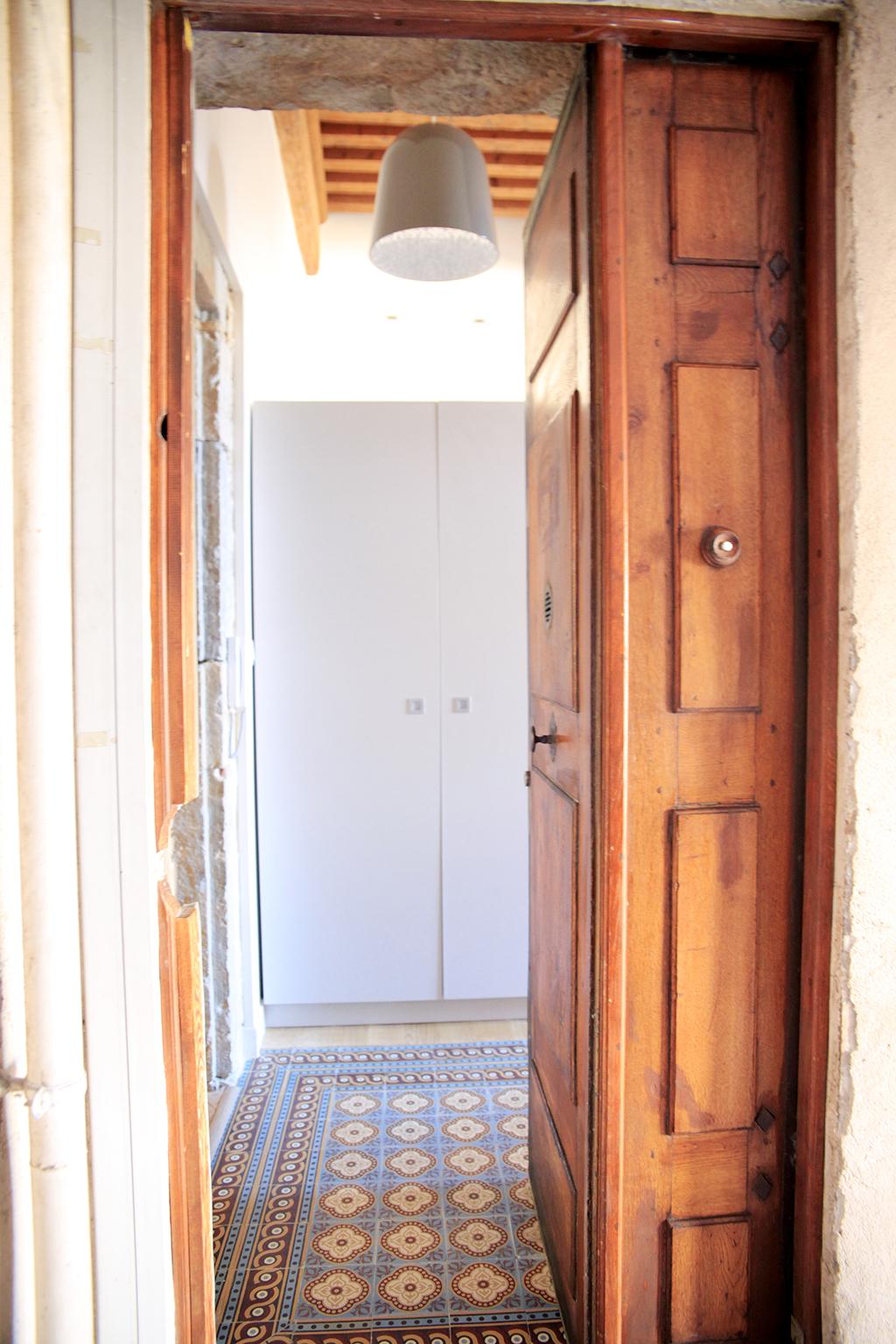 Un appartement transformé place Satonay, Lyon - Photo : Cillia Ciabrini