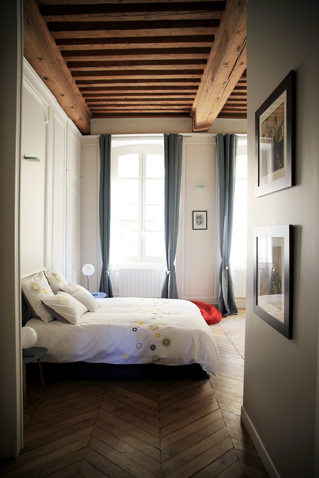 Un appartement transformé place Satonay, Lyon - Photo : Cillia Ciabrini