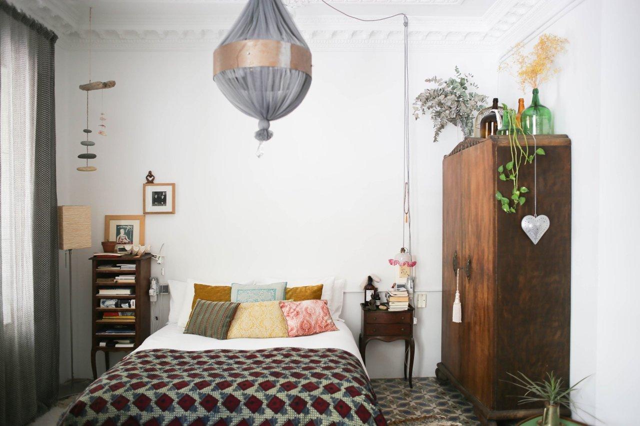 Un appartement bohème, un brin hippie... à Valencia