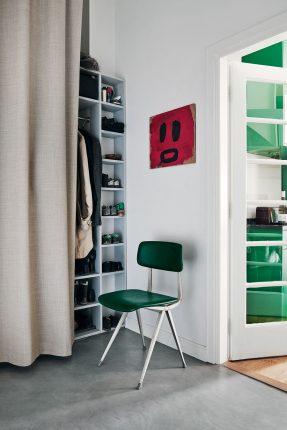 Le fil vert en décoration d'intérieur || Une cuisine verte émeraude