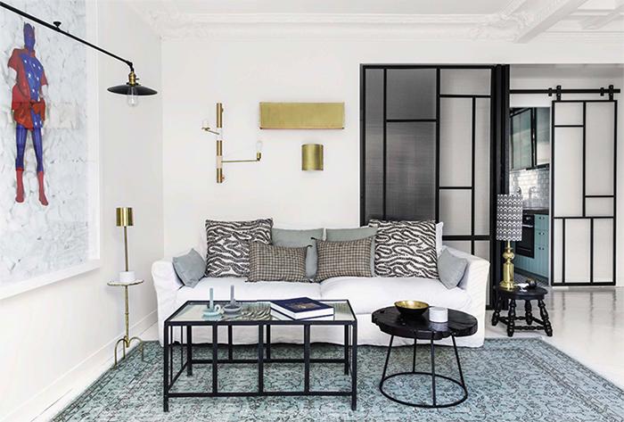 Hauvette & Madani architectes - Projet Peterhof Paris || Romain Ricard pour Elle Décoration