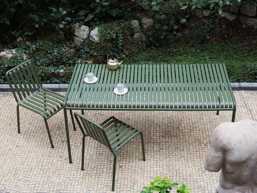 Le fil vert en décoration d'intérieur || Collection Palissade Hay édition par les frères Bourroulec