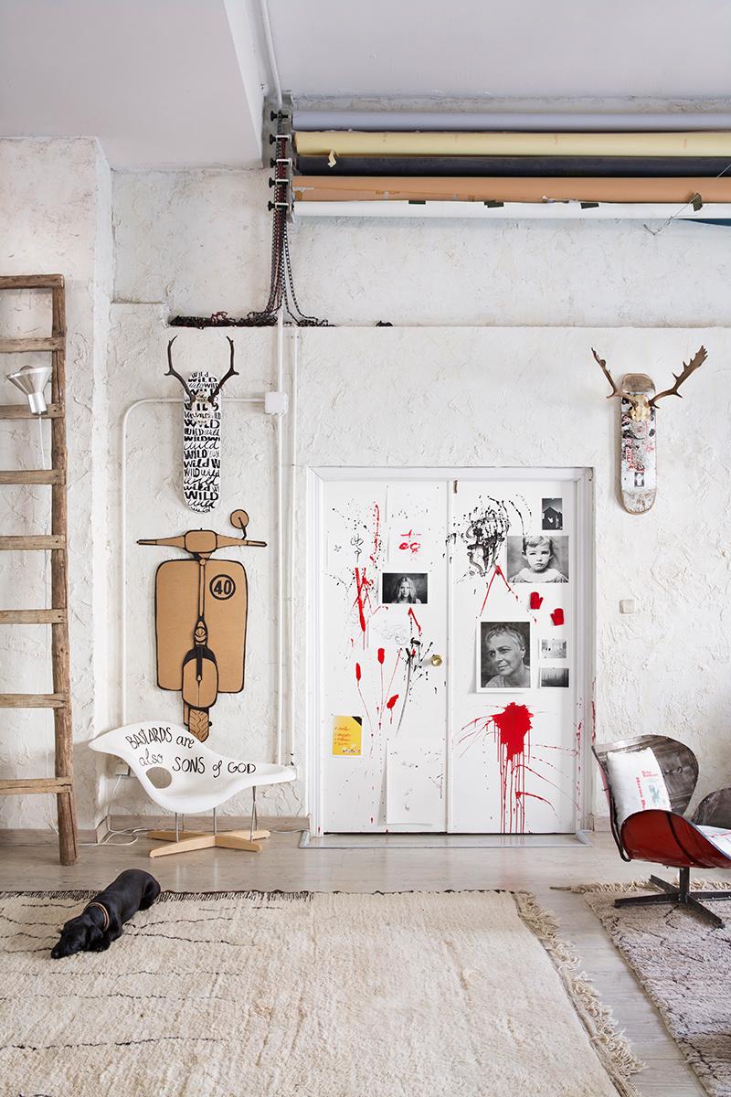 Humour en décoration - Mise en scène d'objets plein d'humour