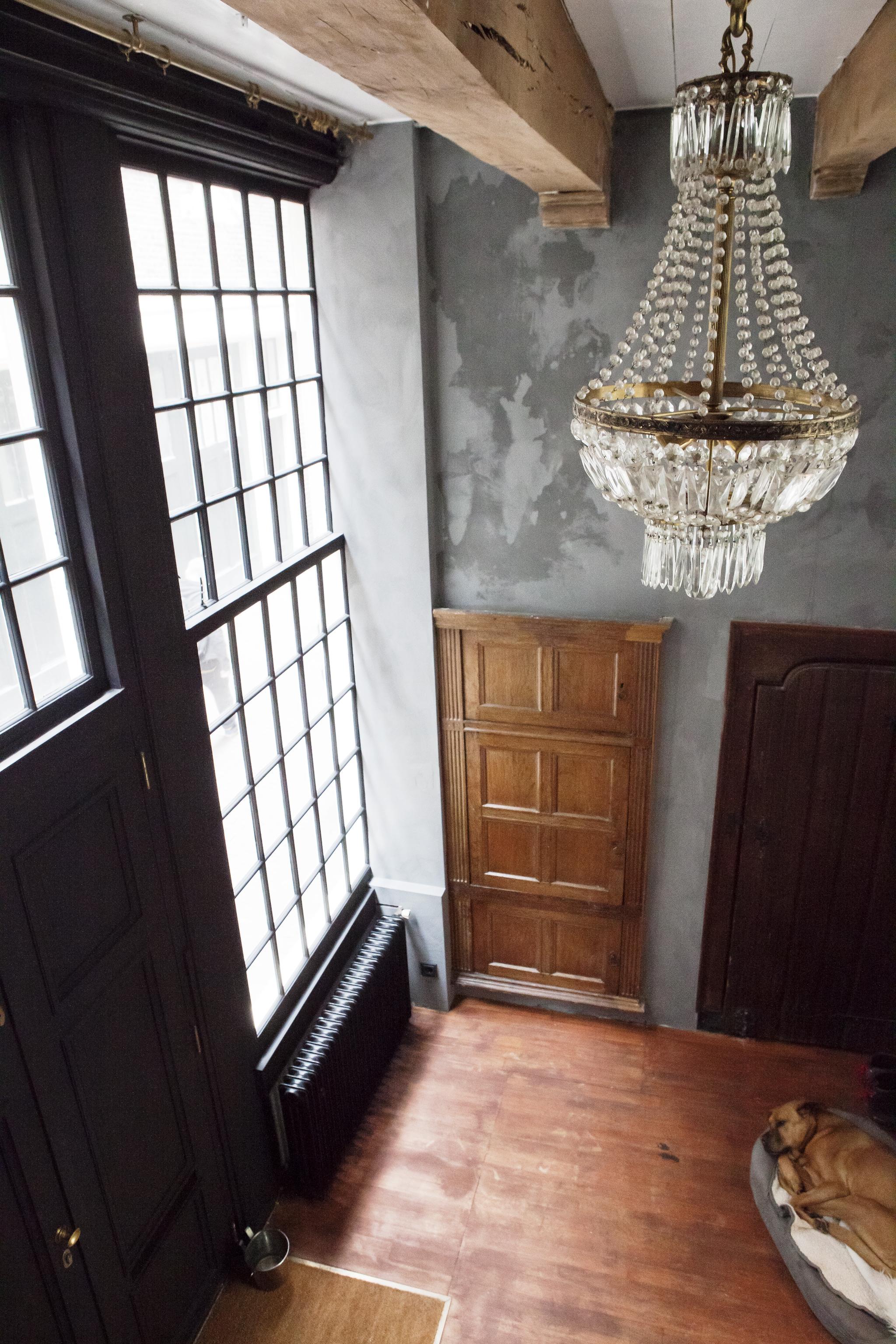 Une maison ancienne à la déco éclectique à Amsterdam