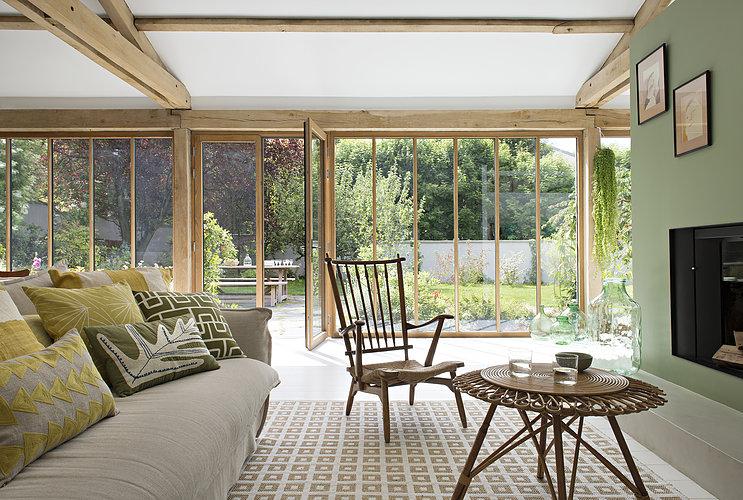La maison verte de l'architecte Veronika Isker
