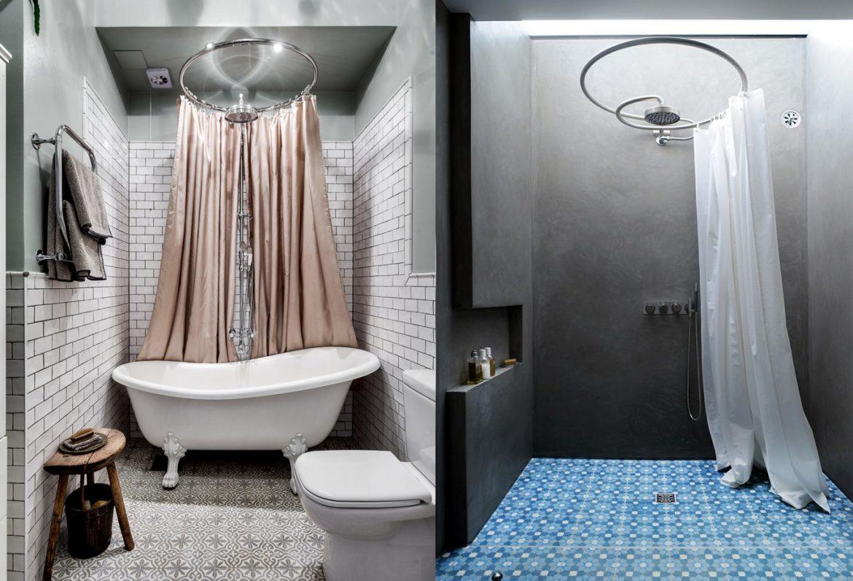 Douche ou baignoire dans la salle de bain ?