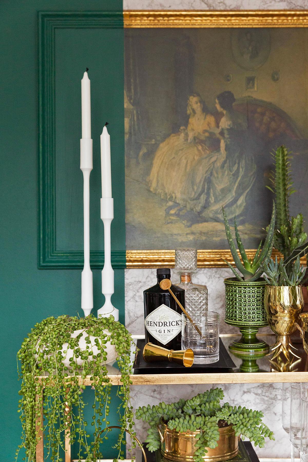 Le fil vert en décoration d'intérieur || un jardin d'intérieur