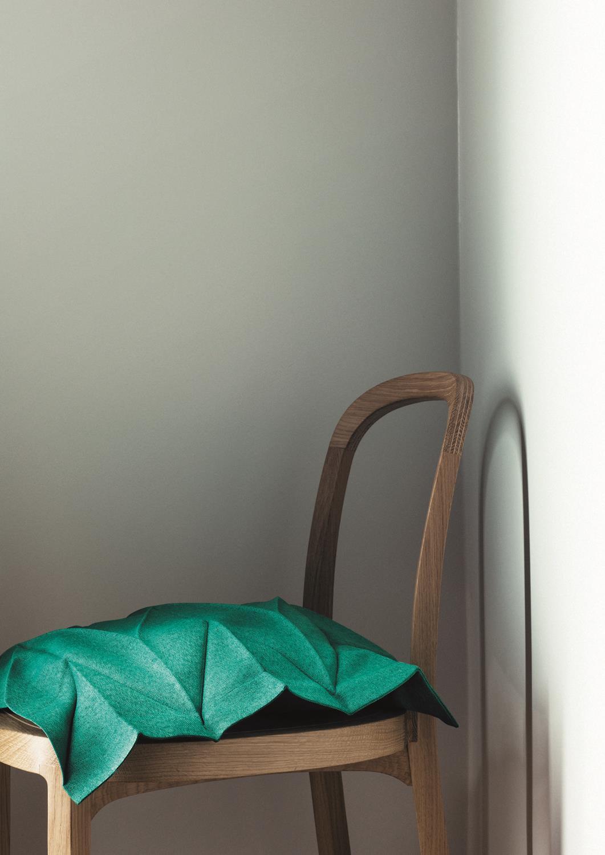 Le fil vert en décoration d'intérieur || Issey Miyake pour Iiitala