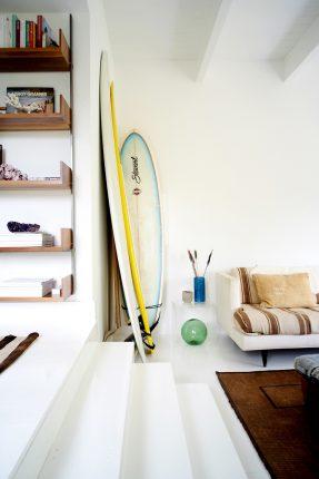 Montauk beach house à la déco minimaliste ethnique