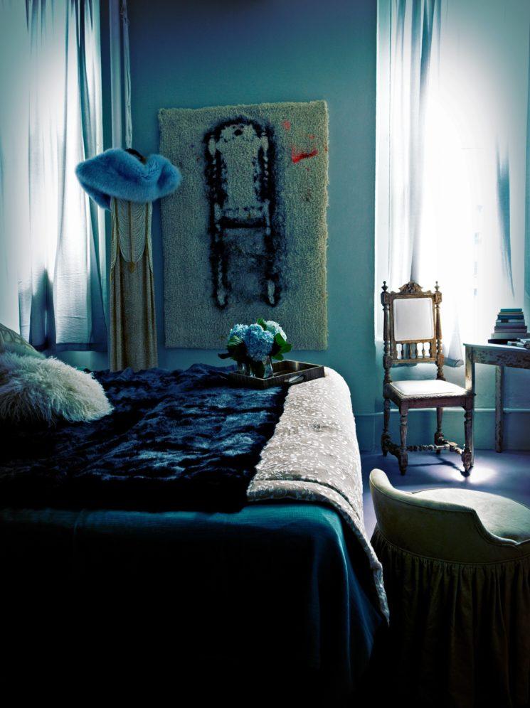 Le loft d'Andi Potamkin sur l'Hudson NY via Abigail Ahern blog