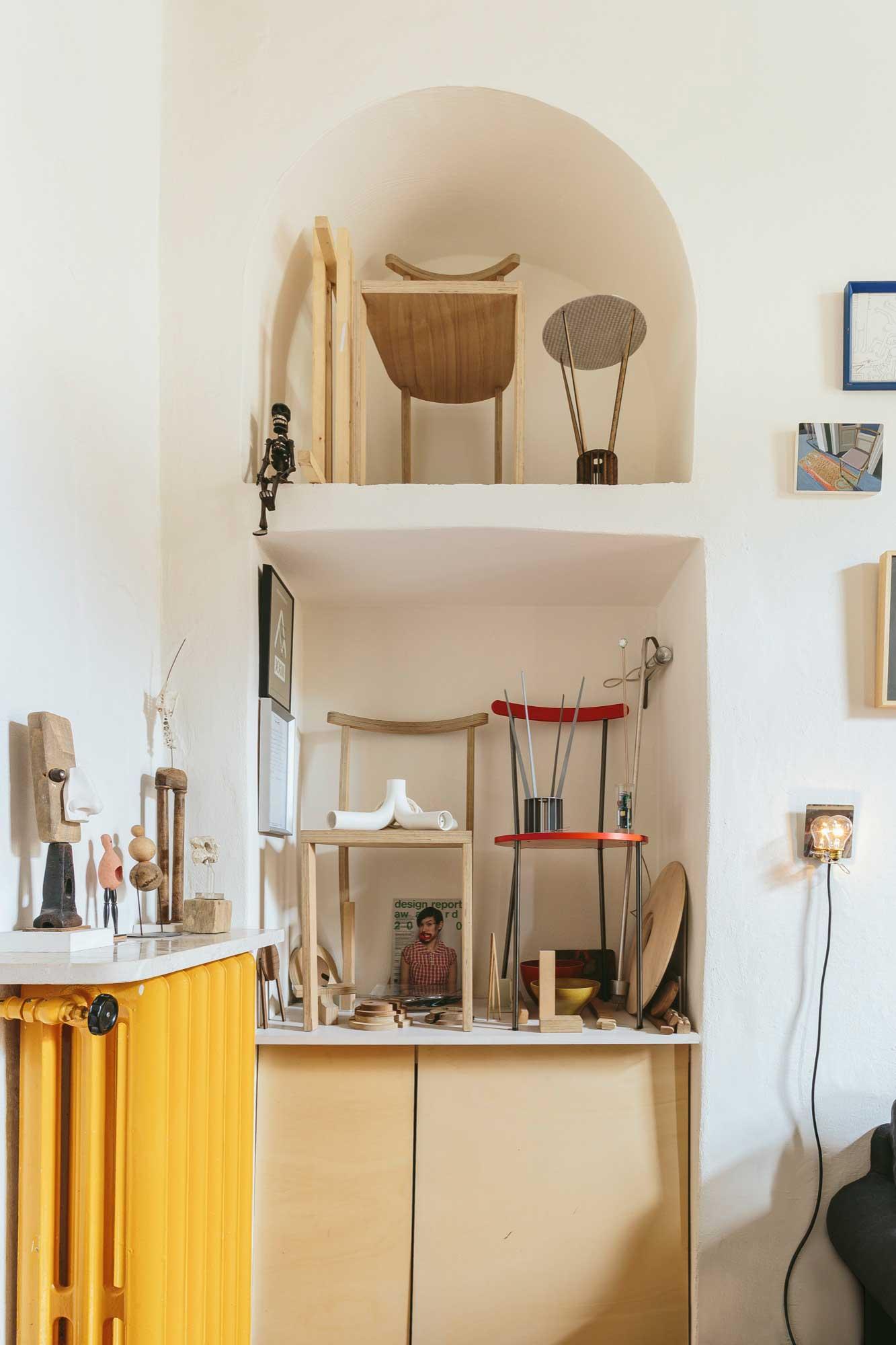 L'appartement au charme discret à Milan du designer Francesco Faccin